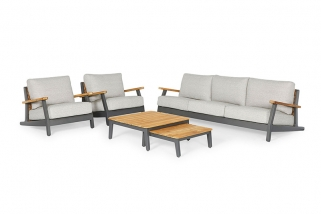 Sofa Set – Siena – Yellow kollektion – 5 teilig