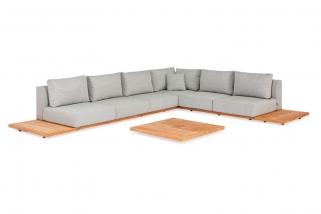 Lounge set - Aspen - Green collection - 6 parts
