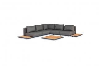 Lounge set - Kota - Green collection - 6 parts