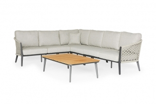 Lounge Set – Salento – Orange kollektion – 5 teilig